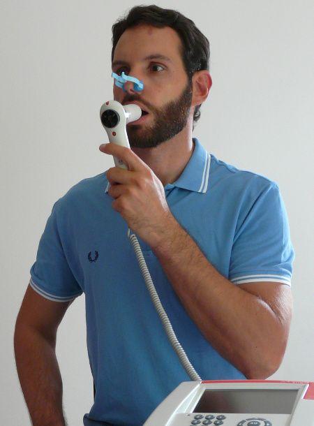 Spirometria con spirometro portatile
