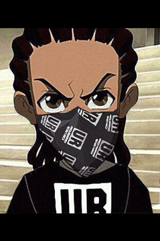 Black Hood Cartoon Characters : Best boondocks images on pinterest the