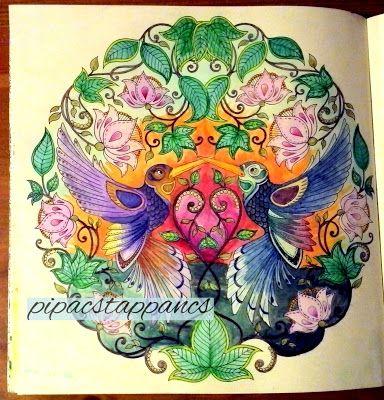 my coloring from  Johanna Basford: Secret garden
