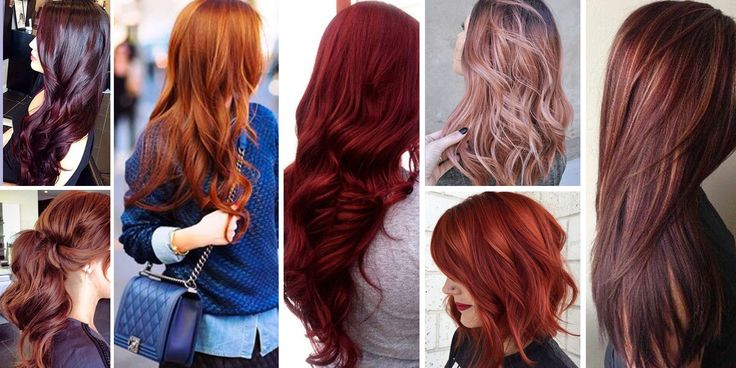 the 21 most popular red hair color shades and which skin tones/eye colors they look good on