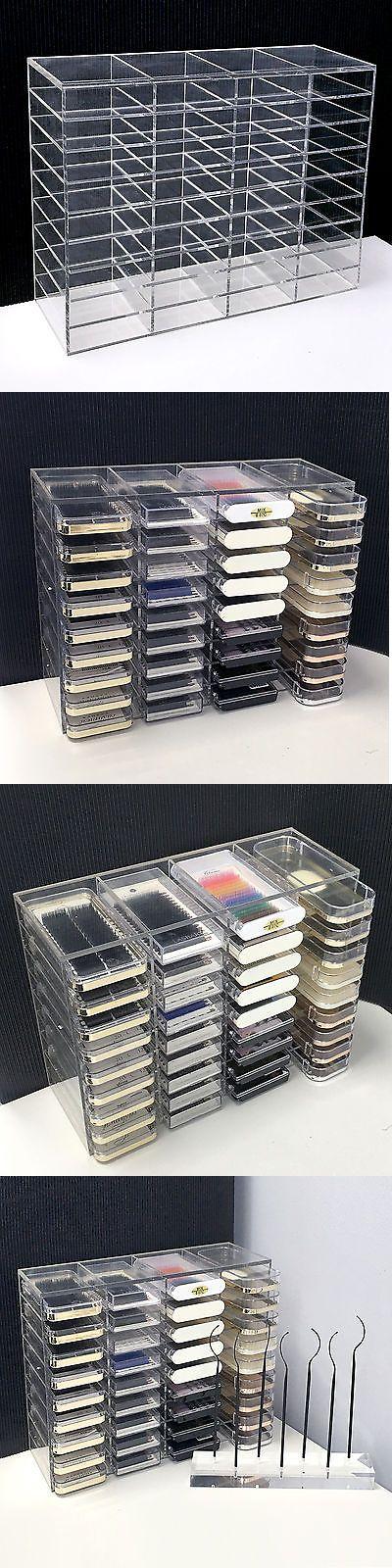 Eyelash Tools: Lashart Clear Acrylic Eyelash Extensions Display Stand Storage Shelf Holder -> BUY IT NOW ONLY: $42.6 on eBay!