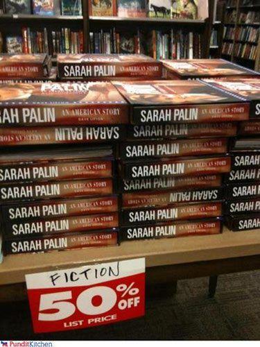 Funny Sarah Palin Pictures: Palin Fiction
