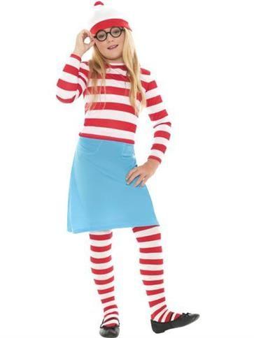 Where's Wenda - Child Costume front