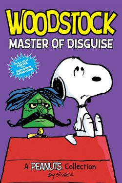 In 224 pages packed with laughs, Woodstock: Master of Disguise revives one of American's iconic birds and provides children 8-12 with an age appropriate comic strip depicting friendship, frustration, and the backyard adventures of Snoopy's favorite little bird.