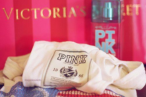 Victoria's Secret and pink-bild