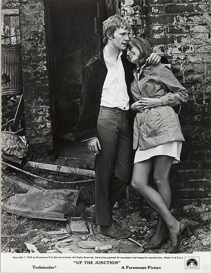 Sixties | Dennis Waterman and Suzy Kendall in Up the Junction, 1968