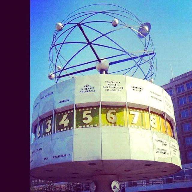 Berlín reloj mundial
