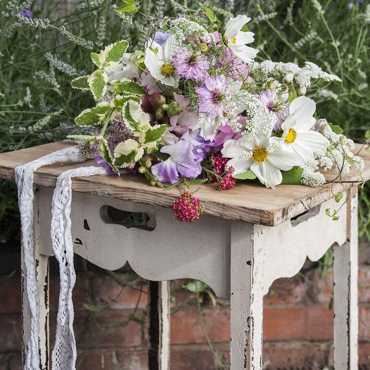 Pastel bouquet for summer brides