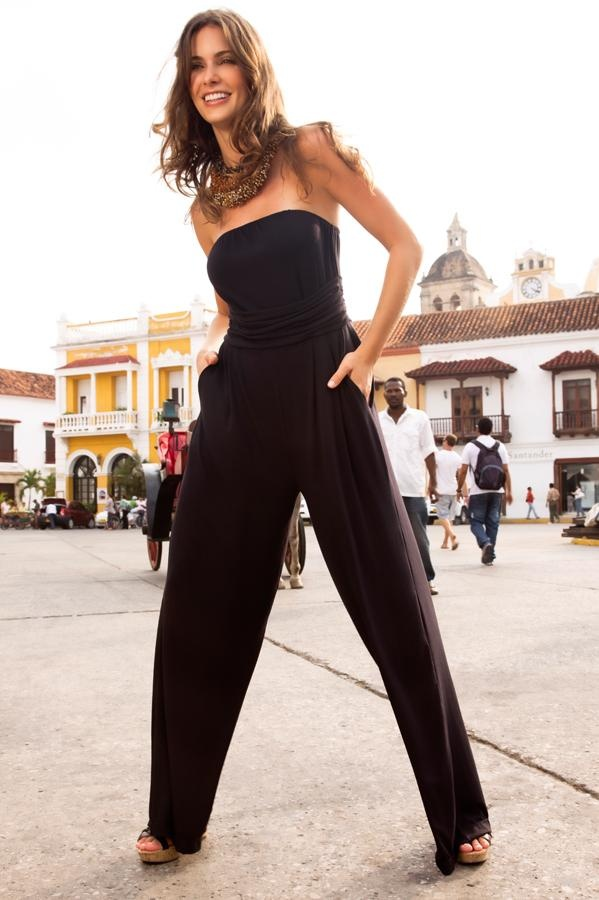 Draped Goddess Coverup: A delectable pant suit perfect for the city streets or  your beach wardrobe.