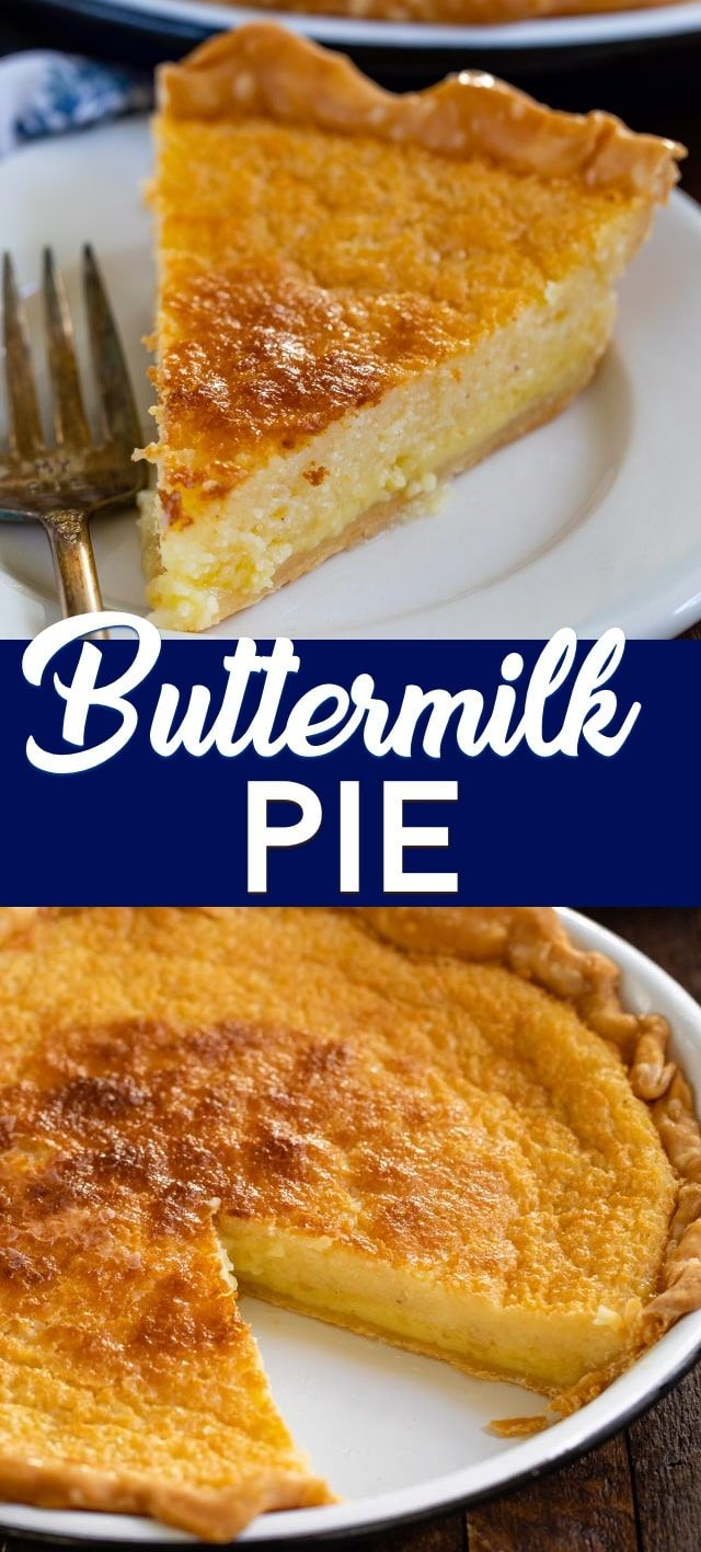 Buttermilk Pie Recipe Easy Pie Recipes Pie Recipes Easy Cheesecake Recipes