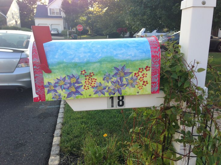 Mailbox Painting Ideas