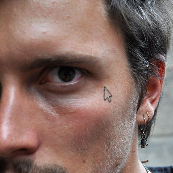 Josh Smith from Brooklyn makes cursor temporary tattoos. Me likey. $5