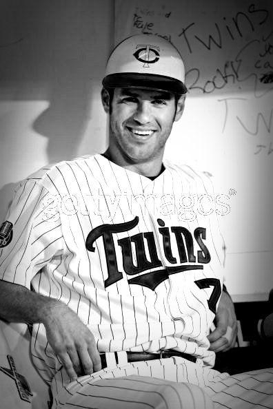 Joe Mauer- What is it about baseball players??