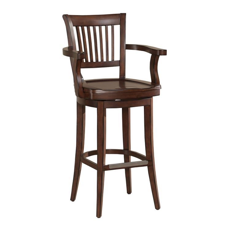American Kailyn 34-inch Extra Tall Stool (Kailyn Extra Tall Stool), Brown (Maple)
