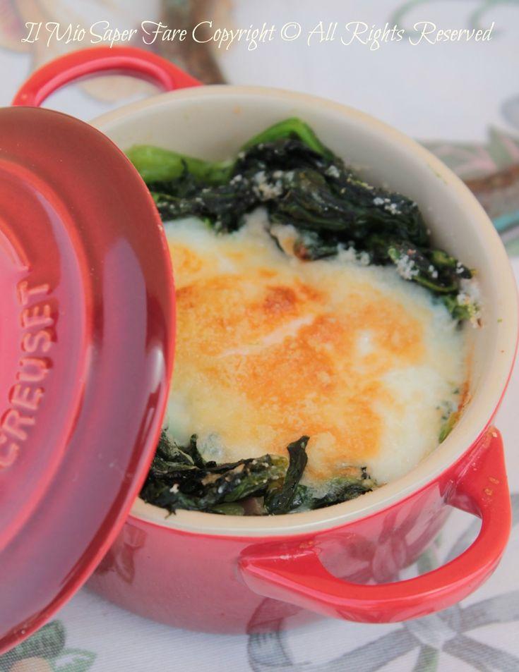 Uova alla fiorentina ricetta blog il mio saper fare