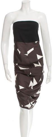 Zero + Maria Cornejo Silk Printed Tunic
