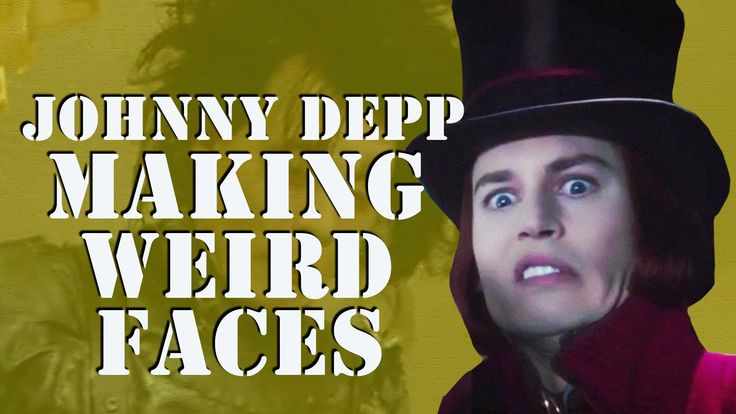 Supercut of Johnny Depp Making Weird Faces in Movies