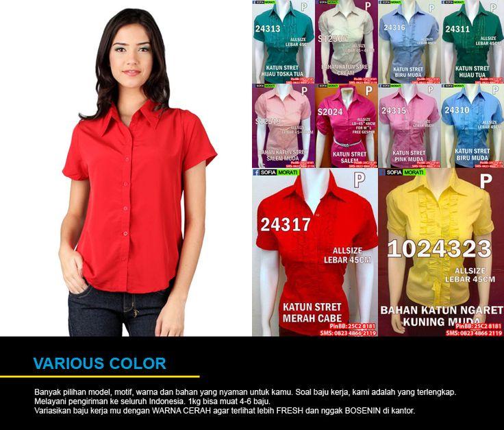 Hubungi yang Jual Pakaian Kerja Wanita Murah yang cantik, modis dan elegan ini di  PinBB : 7d20d94c