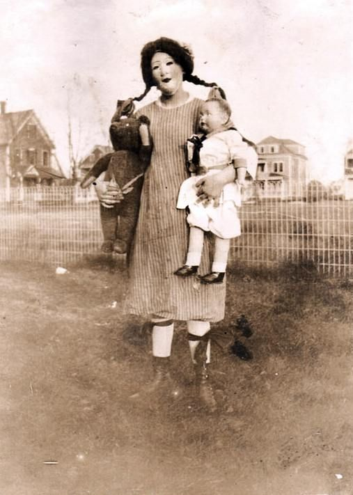 Vintage Creepy Halloween Costume