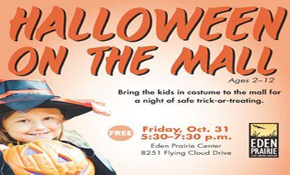 Eden Prairie Center to Host 'Halloween on the Mall'