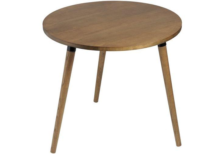 Kulatý konferenční stolek 80cm RETRO