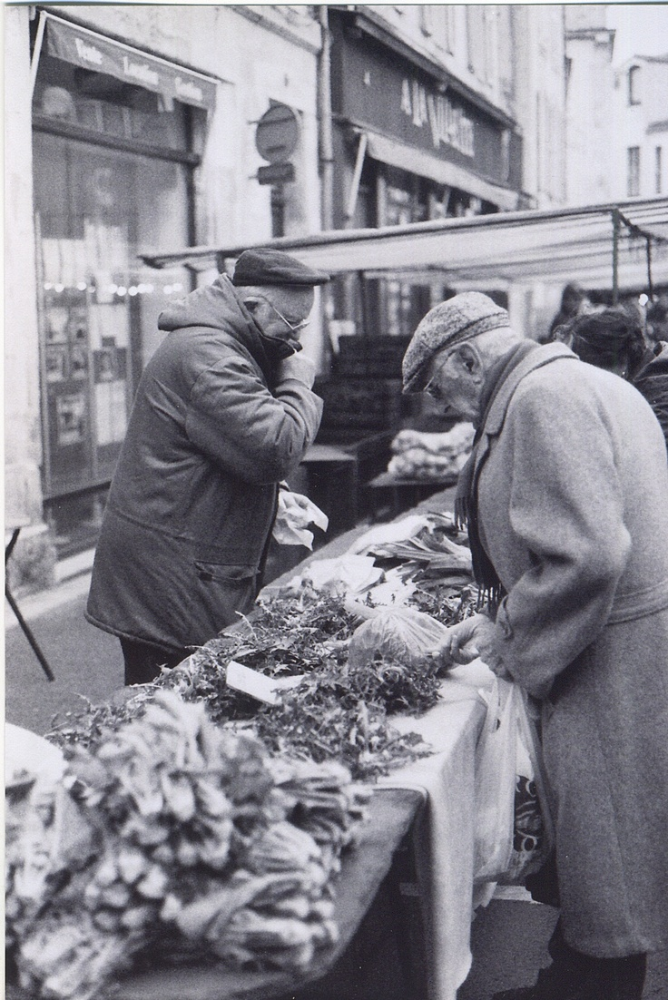 at the La Rochelle market