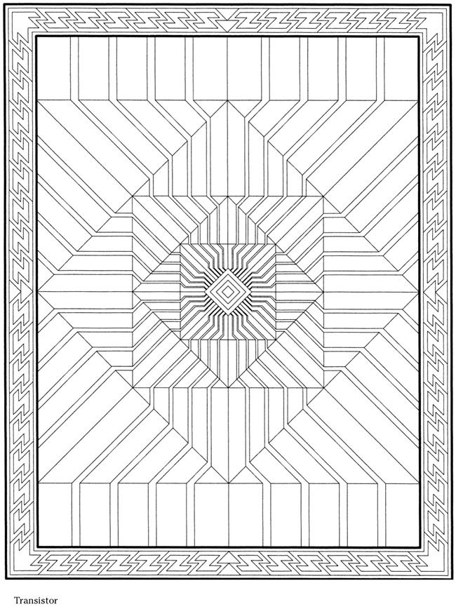 creative haven 3 d modern mandalas coloring book - Modern Patterns Coloring Book