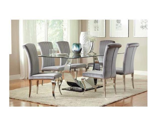 Side Chair (grey/chrome)