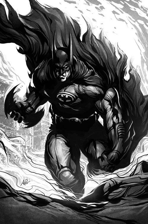 batman artwork collection