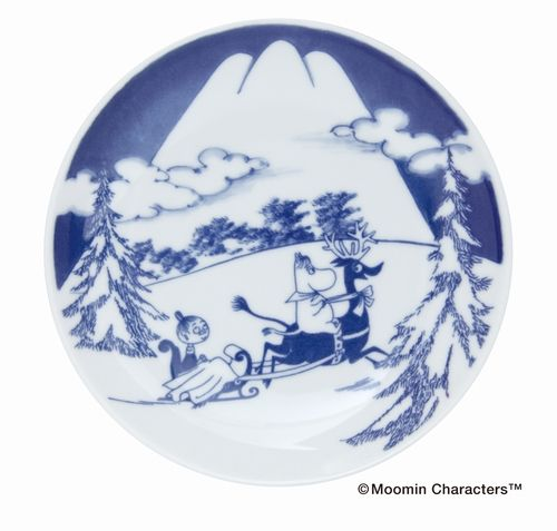 [MOOMIN×amabro SOMETSUKE] Snow mountain