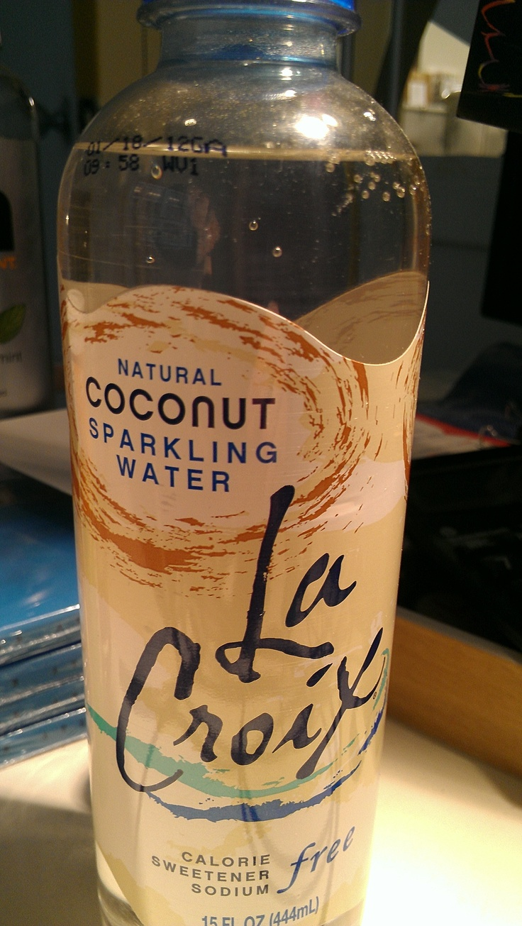 Proud to have helped get LaCroix's Coconut Sparkling Water out there