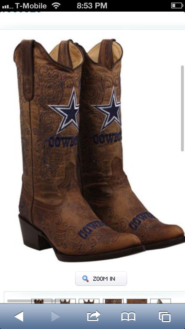 Best 25+ Dallas cowboys boots ideas on Pinterest | Dallas