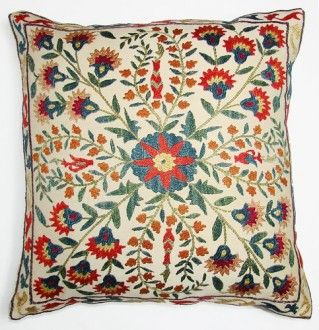 Suzani pillow