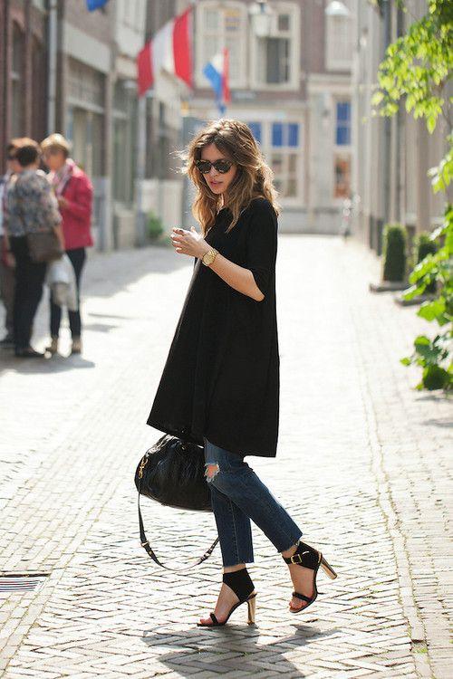 heels on cobblestones=bravery