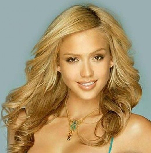 Olive Skin And Blonde Hair 75