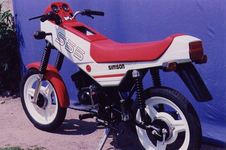 Prototype S55-1 Kleinkraftrad, Modell 1988