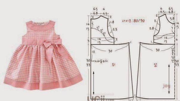 moldes de vestidos de niñas gratis para imprimir - Buscar con Google