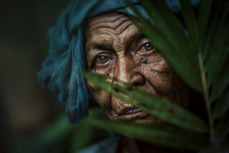 MAMA ESAH BEHIND THE BAMBOO FOREST by abe less