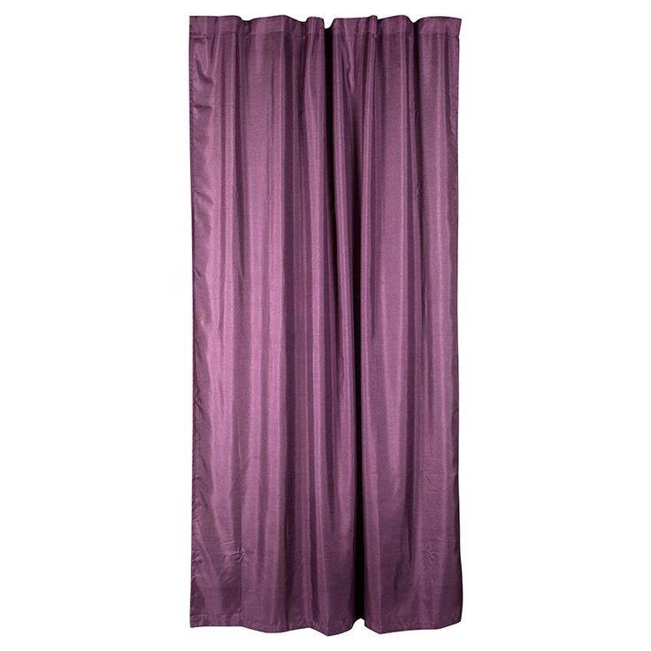 Штора Арта 180х280 см, подхват, лента, фиолетовая, Шторы готовые - Каталог Леруа Мерлен