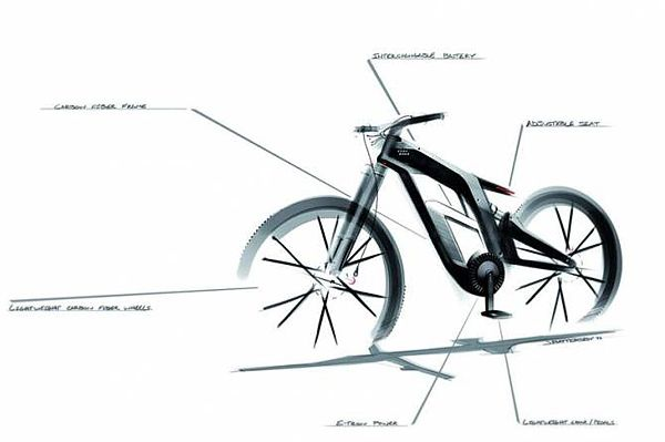 Audi E-bike Wörthersee Concept Bike