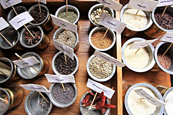 Le spezie sono ciò che rendono la cucina Chettinad così distinta nel suo stile e genere. Foto di Samuele Fracasso