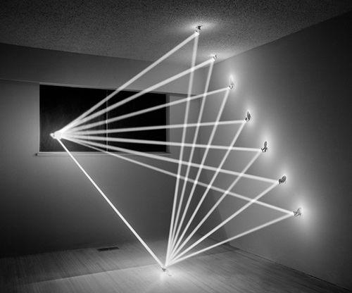 Light sculpture by James Nizam