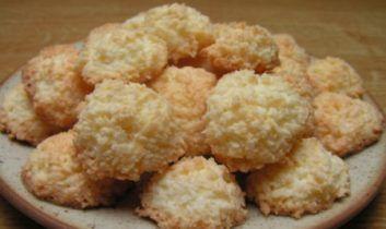 Vánoční cukroví: Extra rychlá a lahodné kokosky