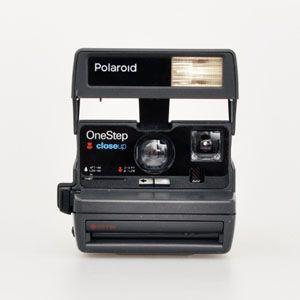 IMPOSSIBLE - cameras: Refurbished 80s Style Polaroid 600 Camera Kit