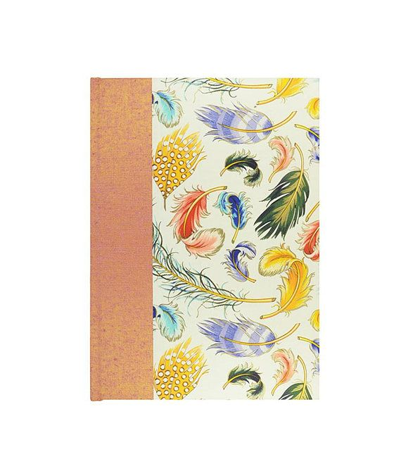 "NEW Colorful Address Book w/wonderful cover ""TRADE WINDS"" by WolfiesBindery $25"