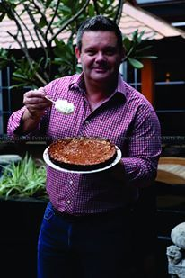 Gary Mehigan | Masterchef Australia | Tourism Victoria | Luncheon | Chocolate Cake | Corporate Events | Grand Hyatt | Pegasus Events | Mumbai