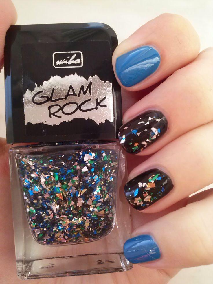 Wibo Glam Rock - drobinkowy top coat
