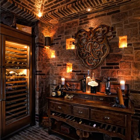 592 best images about home bar wine cellars on pinterest for Wine cellar lighting ideas