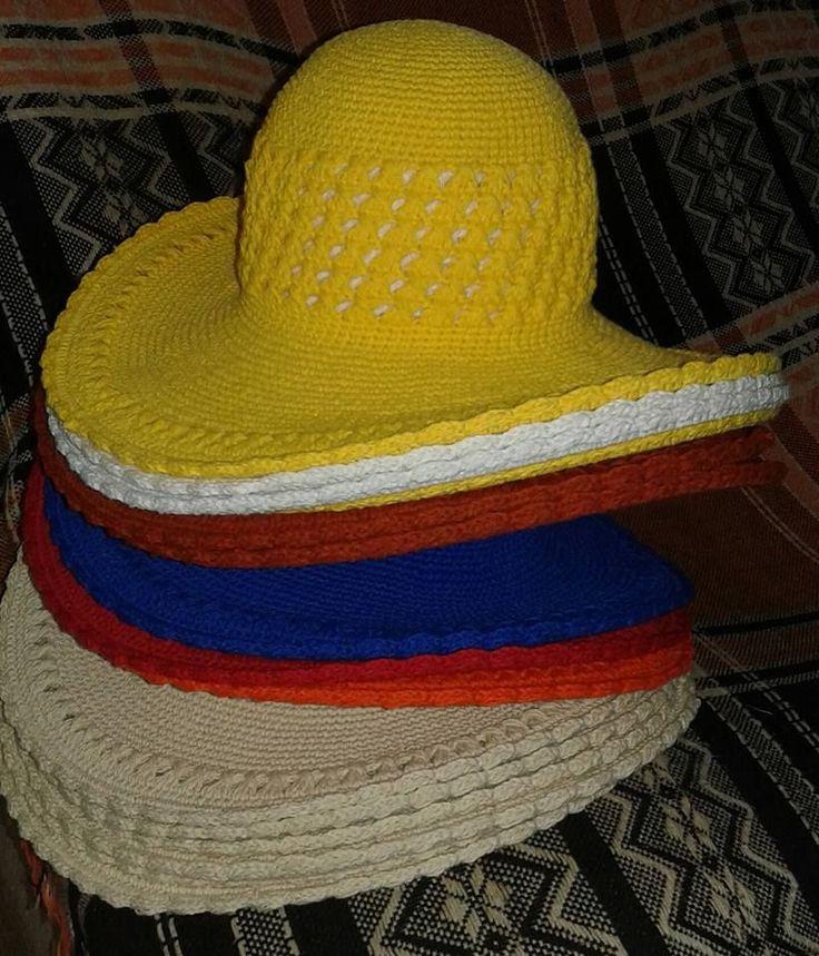 Aprenda neste (PAP) a fazer um lindo chapeu de praia em croche. (9031)