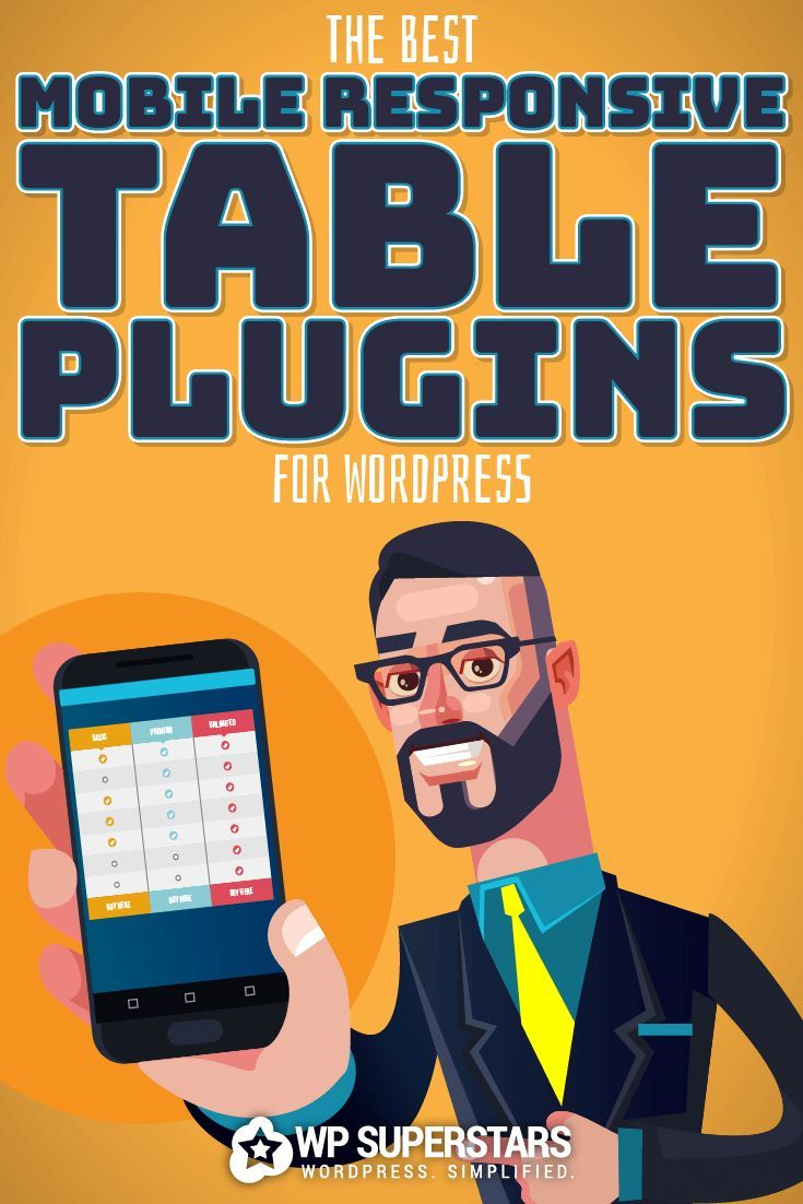 5 Powerful And Mobile Responsive Table Plugins For WordPress